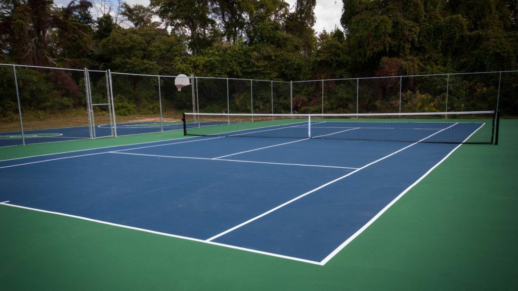 Sun Outdoors Cape May RV Resort and Vacation Rentals Tennis Court in Cape May, NJ