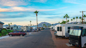 blue star rv resort | Apache Junction, AZ mountain view