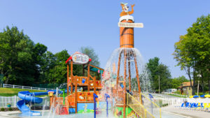 Jellystone Park™ at Birchwood Acres RV Resort Water Zone in Greenfield Park, NY
