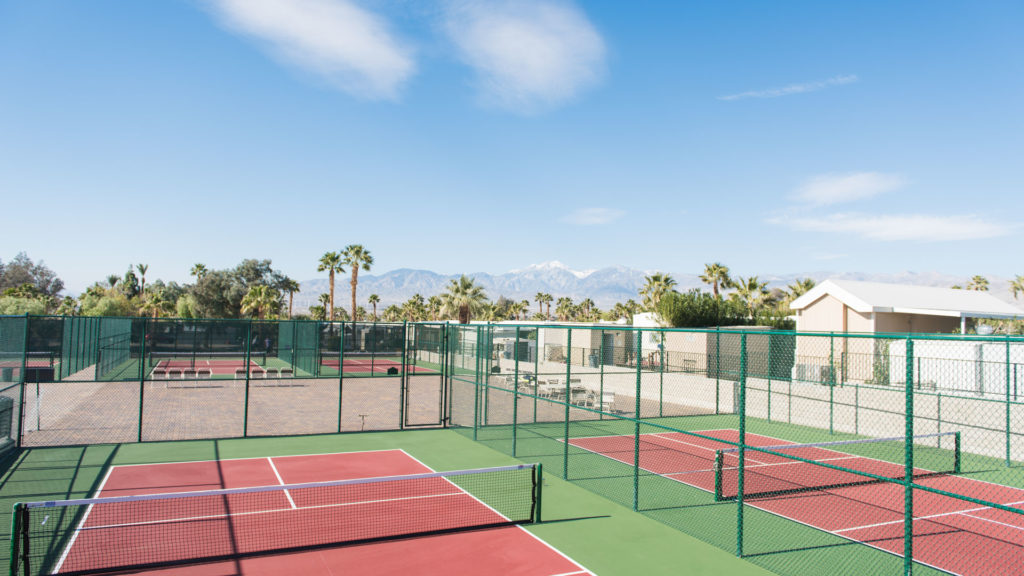 Sands RV Golf & RV Resort Pickleball court