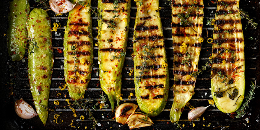 grilled sides zucchini