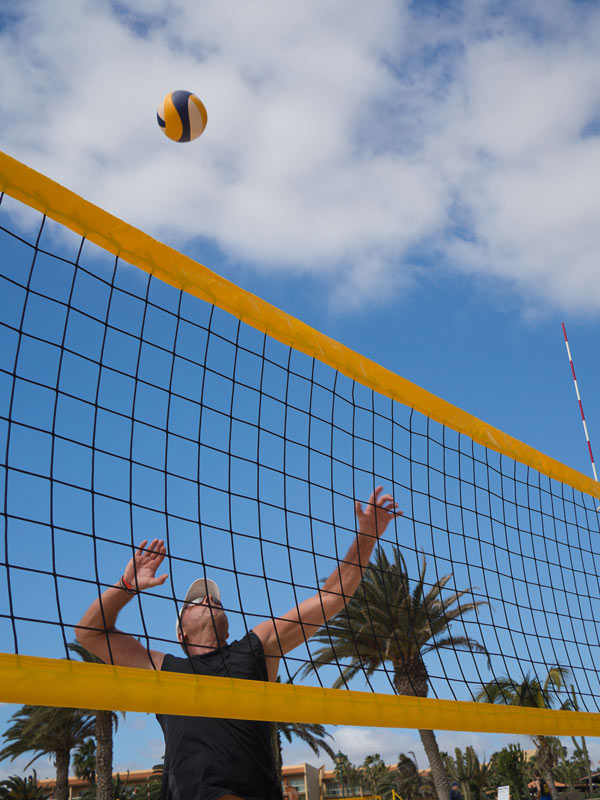 Volleyball in Arizona at Leaf Verde RV Resort