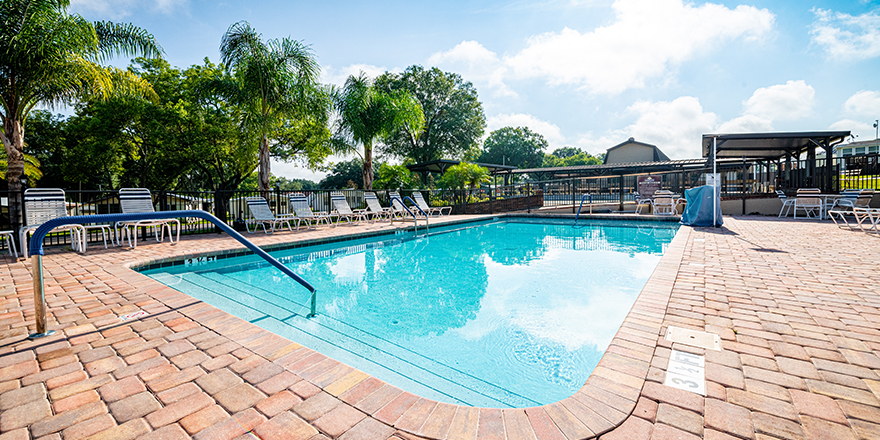 Baker Acres RV Resort Swimming Pool