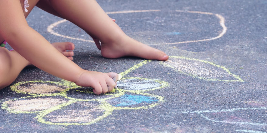 Family Chalk Art Competition