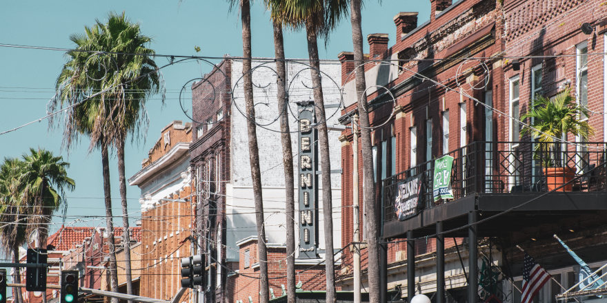 Ybor City in Tampa Florida