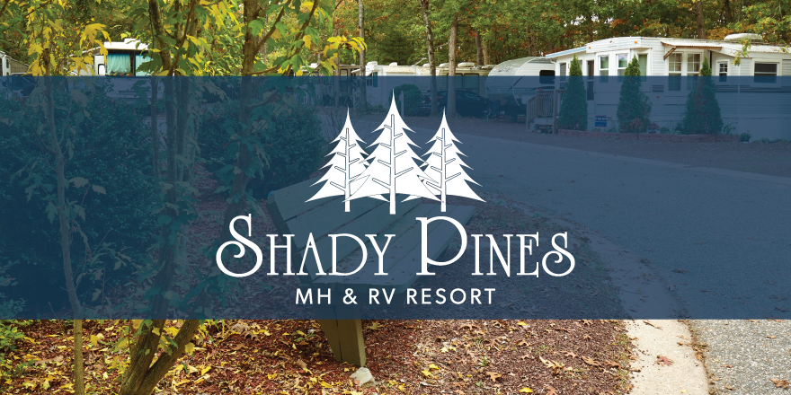 Shady Pines MH and RV Resort Logo
